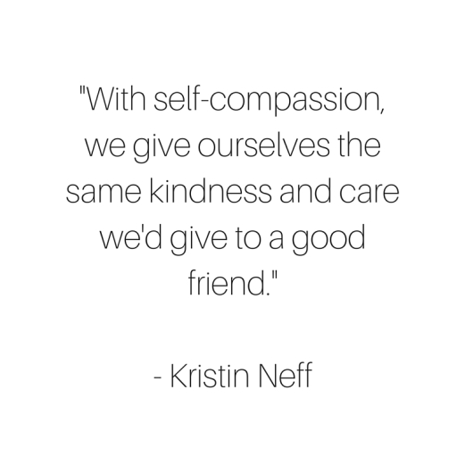 self compassion and self talk Both have merits, but many experts believe that self-compassion includes the advantages of self-confidence without the drawbacks continue reading the talk to yourself it may help to imagine the way a loved one would talk to you about your mistakes, then switch that voice out for a more supportive one.